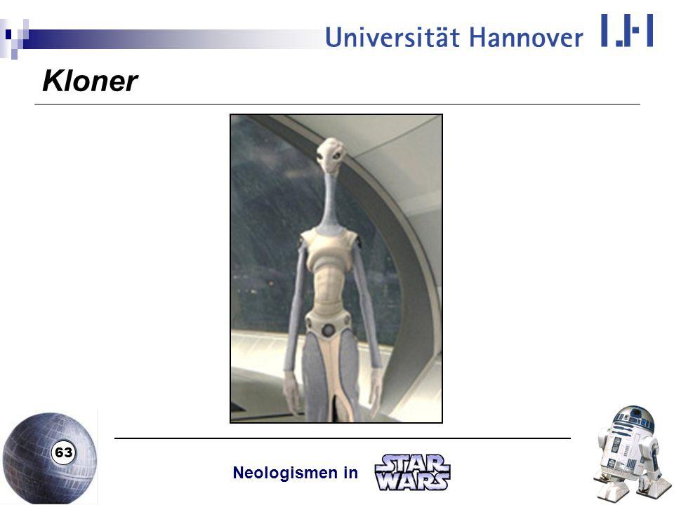 Kloner Neologismen in