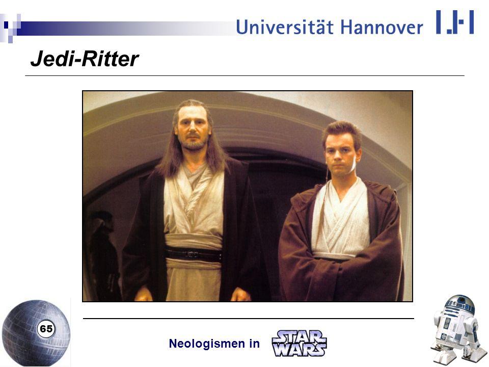 Jedi-Ritter Neologismen in