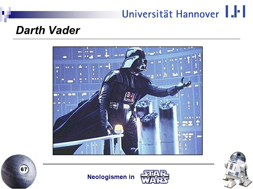 Darth Vader Neologismen in
