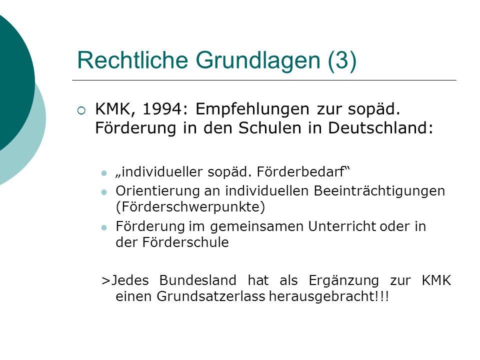 Rechtliche Grundlagen (3)