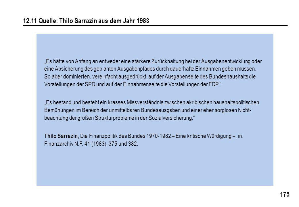 12.11 Quelle: Thilo Sarrazin aus dem Jahr 1983
