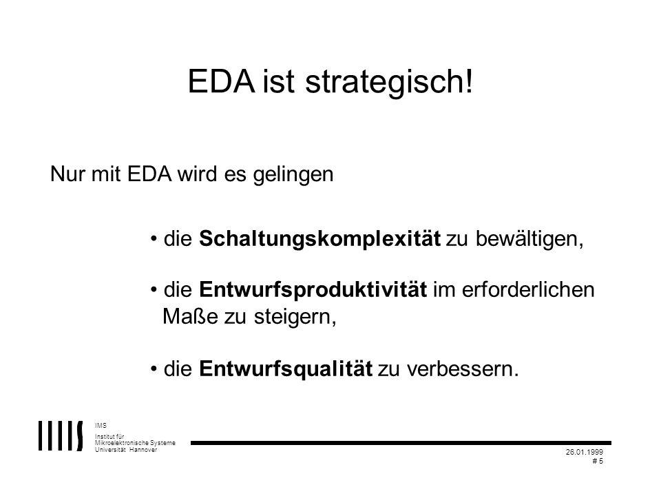 Nur mit EDA wird es gelingen