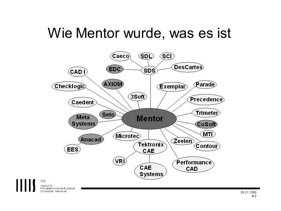 Wie Mentor wurde, was es ist