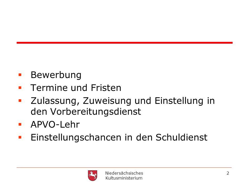 Niedersächsisches Kultusministerium
