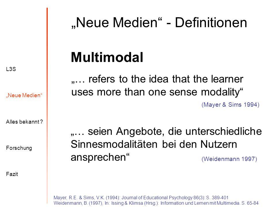 """""""Neue Medien - Definitionen"""