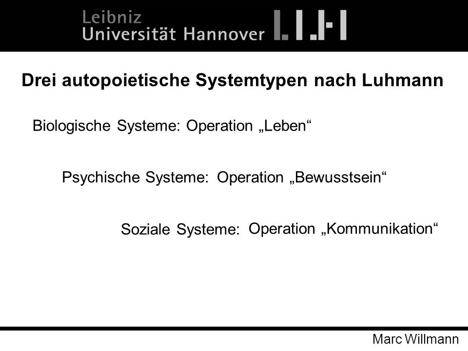 """Biologische Systeme: Operation """"Leben"""