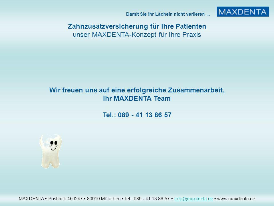 Wir freuen uns auf eine erfolgreiche Zusammenarbeit.
