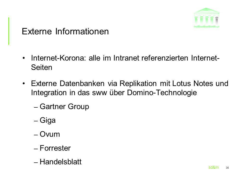 Externe Informationen