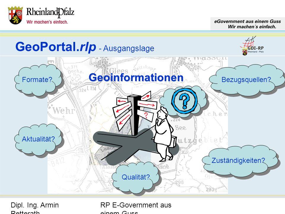GeoPortal.rlp - Ausgangslage