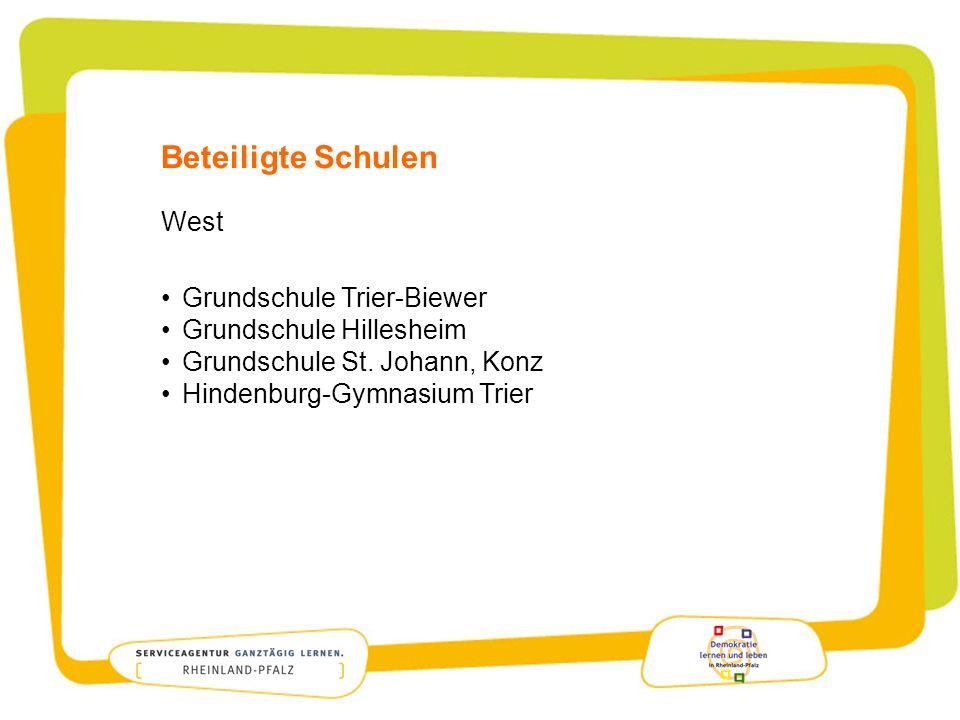 Beteiligte Schulen West Grundschule Trier-Biewer