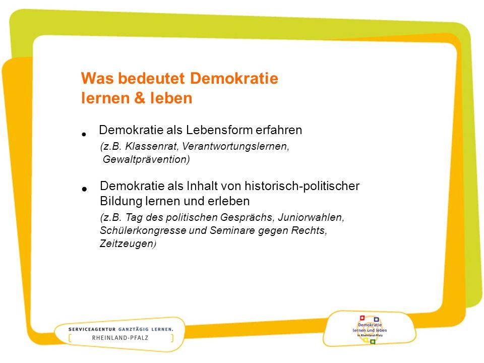 Was bedeutet Demokratie