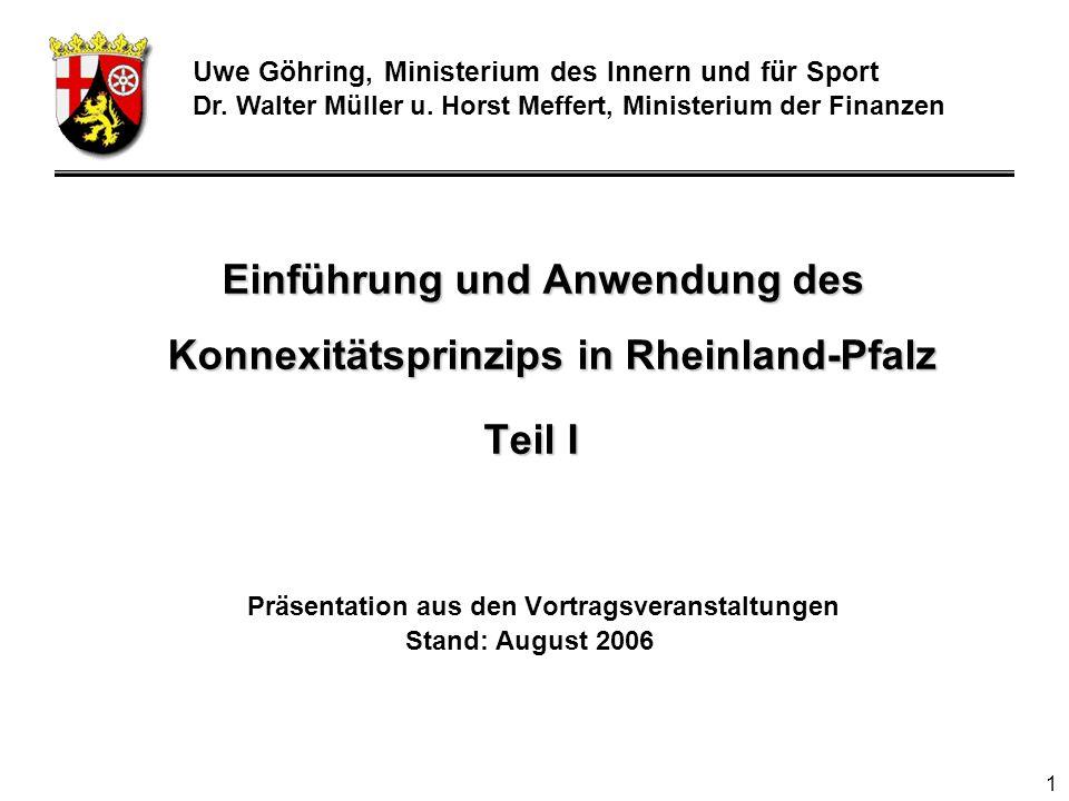 Uwe Göhring, Ministerium des Innern und für Sport