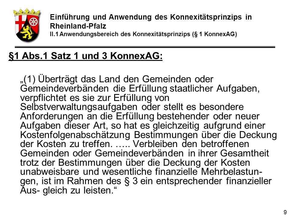 §1 Abs.1 Satz 1 und 3 KonnexAG: