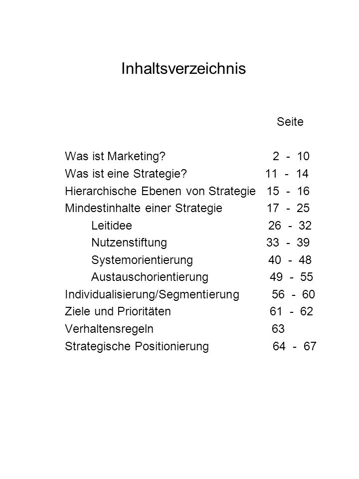 Was ist Marketing .