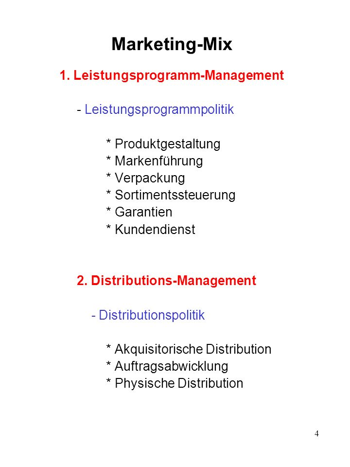 3. Gegenleistungs-Management