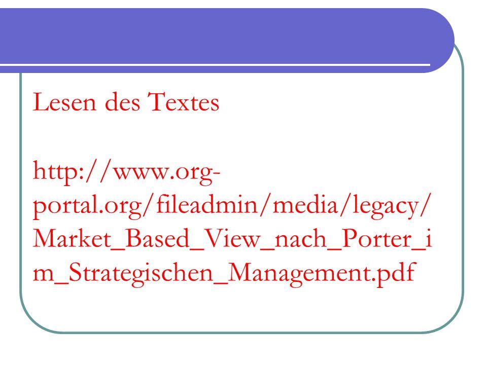 Lesen des Textes http://www. org-portal