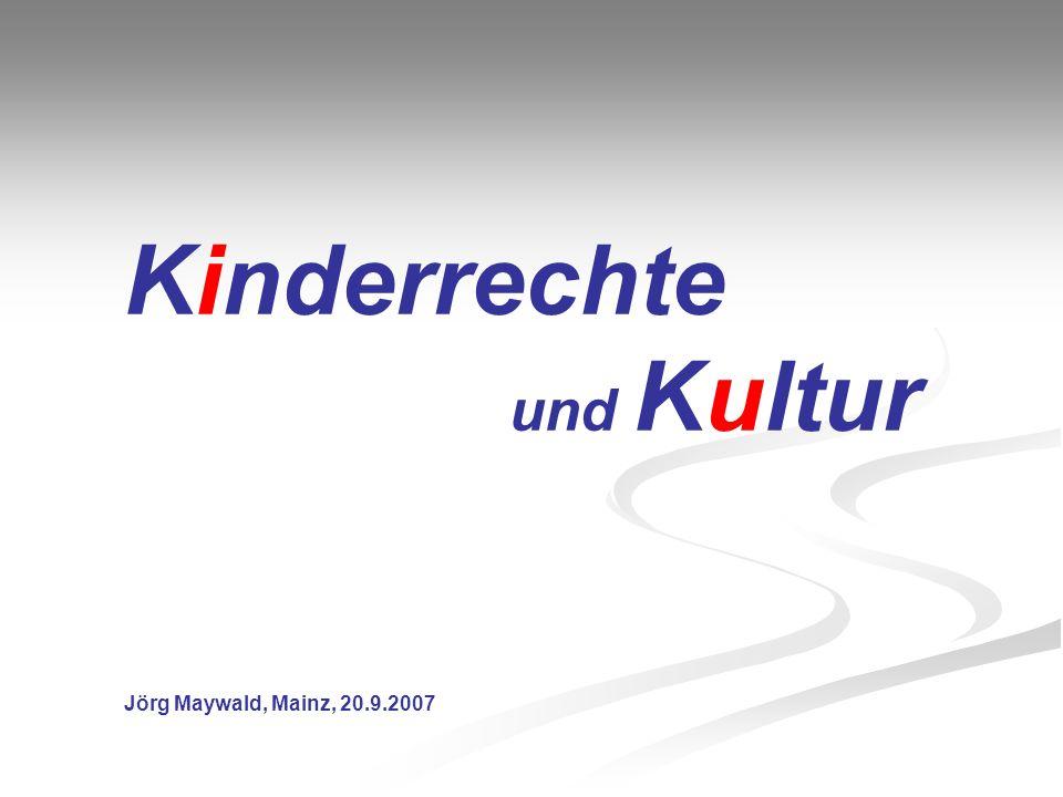 Kinderrechte und Kultur
