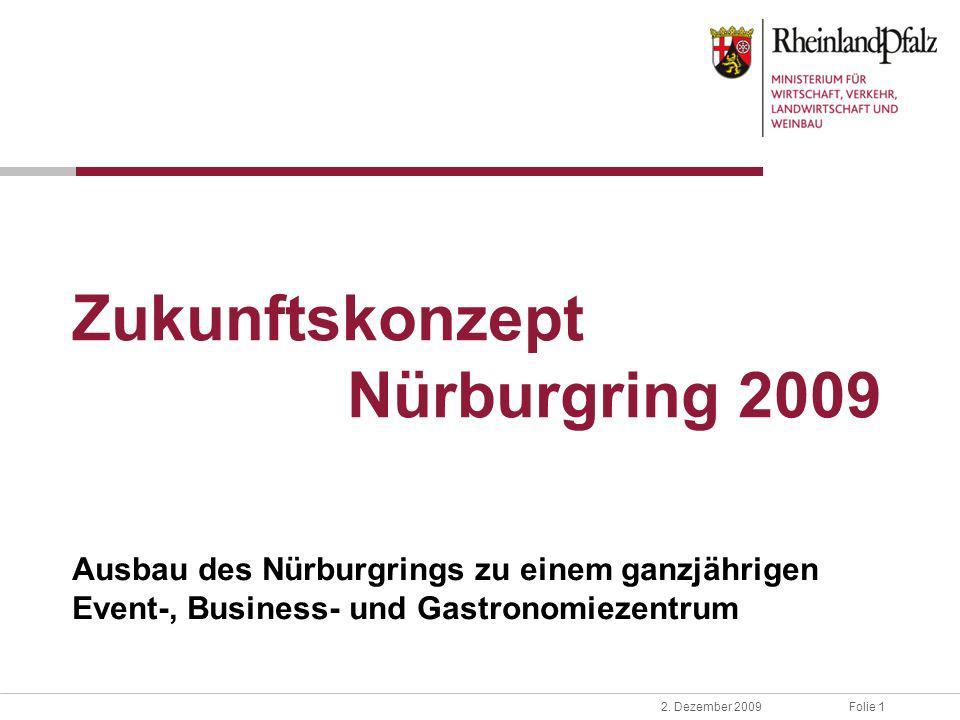 Zukunftskonzept Nürburgring 2009
