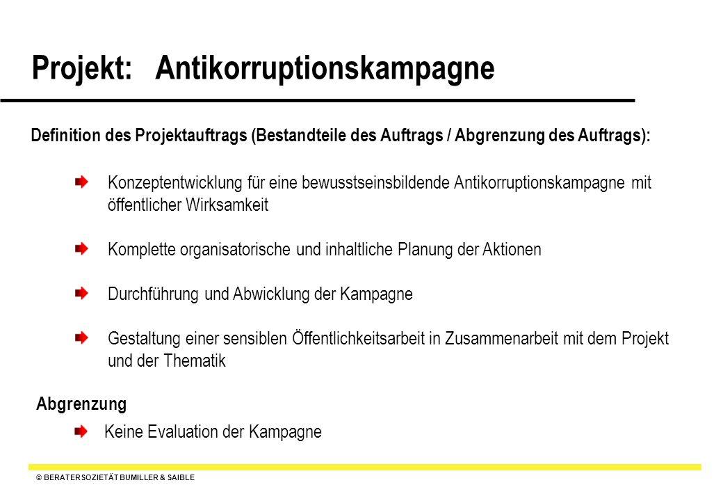 Definition des Projektauftrags (Bestandteile des Auftrags / Abgrenzung des Auftrags):