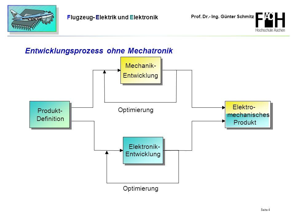 Entwicklungsprozess ohne Mechatronik