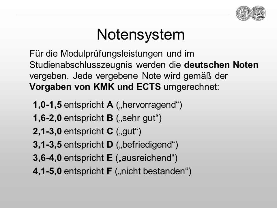 Notensystem