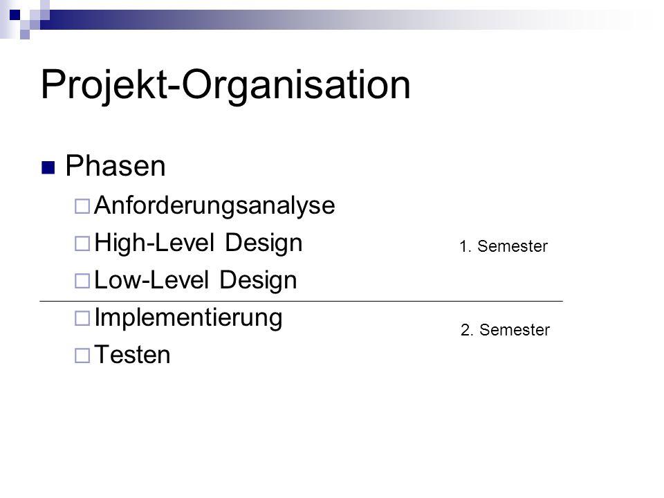 Projekt-Organisation