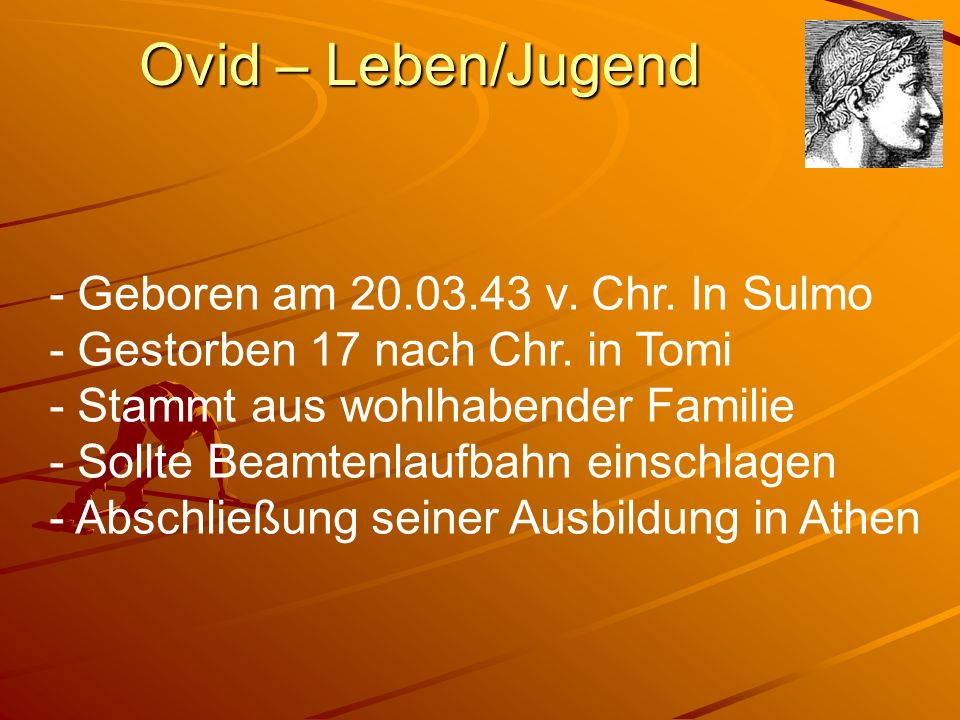Ovid – Leben/Jugend