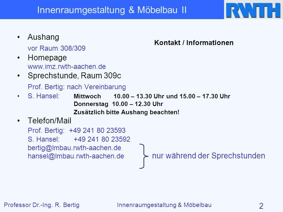 Kontakt / Informationen