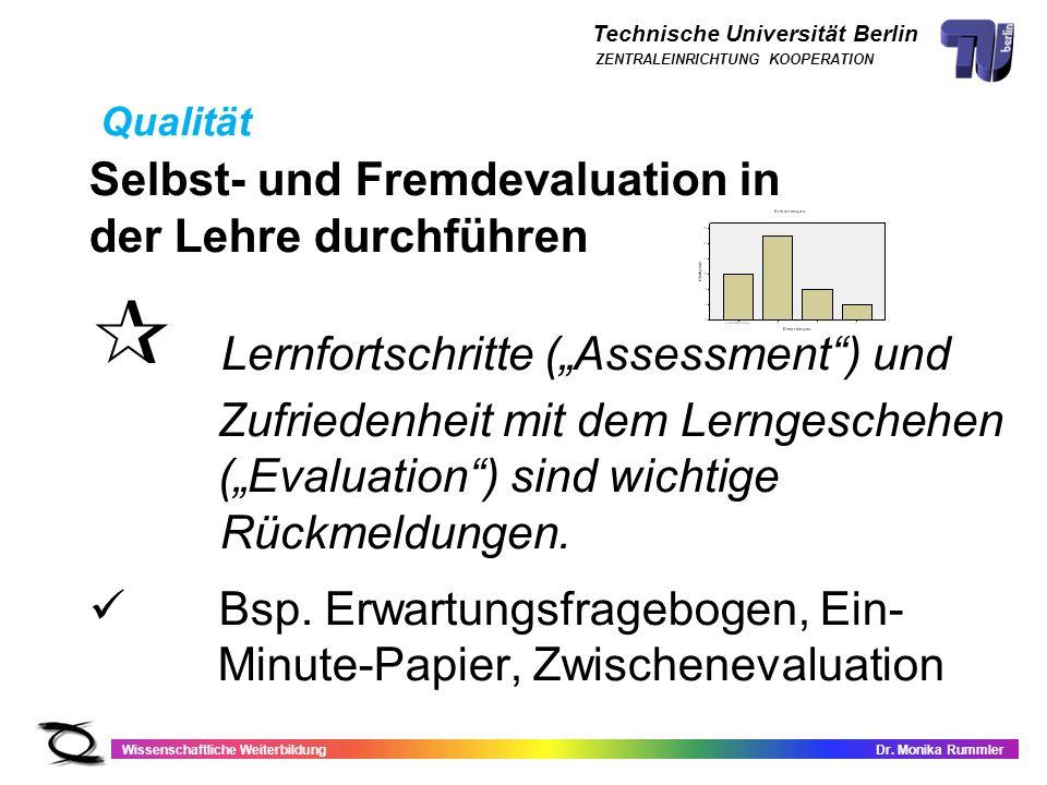 """ Lernfortschritte (""""Assessment ) und"""