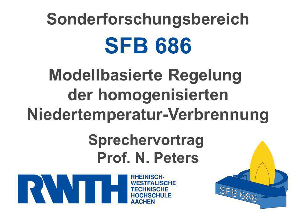 SFB 686 Sonderforschungsbereich Modellbasierte Regelung
