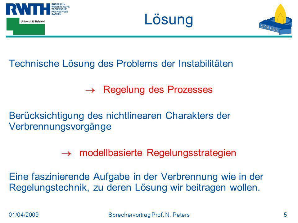 Lösung Technische Lösung des Problems der Instabilitäten