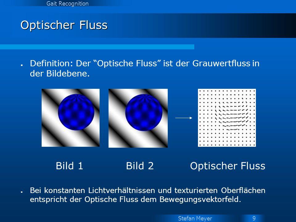 Optischer Fluss Bild 1 Bild 2 Optischer Fluss