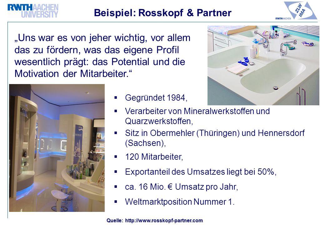 Beispiel: Rosskopf & Partner
