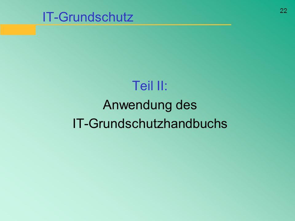 IT-Grundschutzhandbuchs