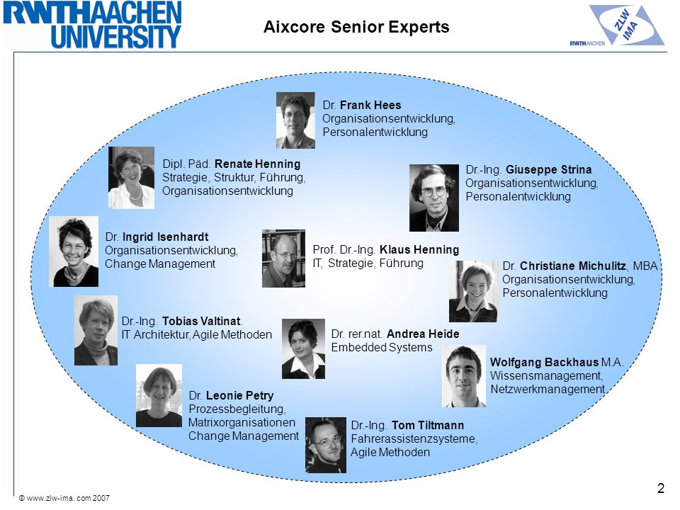 Aixcore Senior Experts