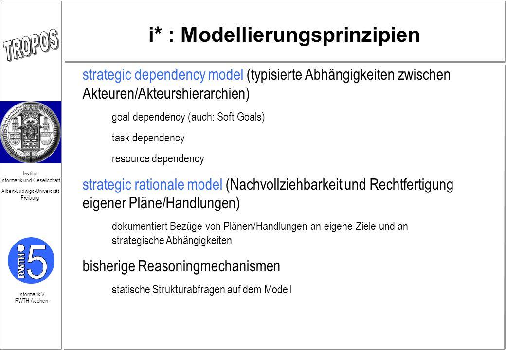 i* : Modellierungsprinzipien