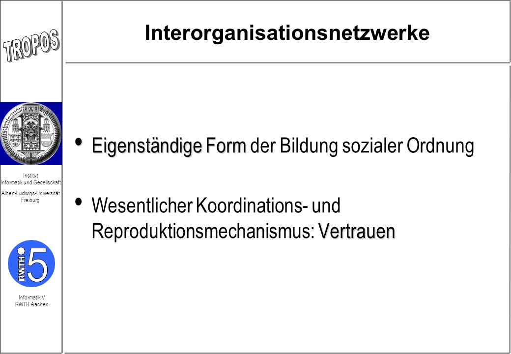 Interorganisationsnetzwerke