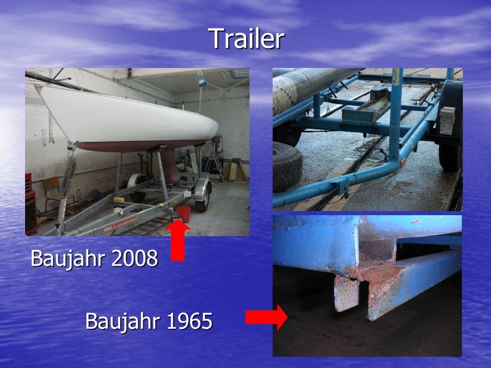 Trailer Baujahr 2008 Baujahr 1965