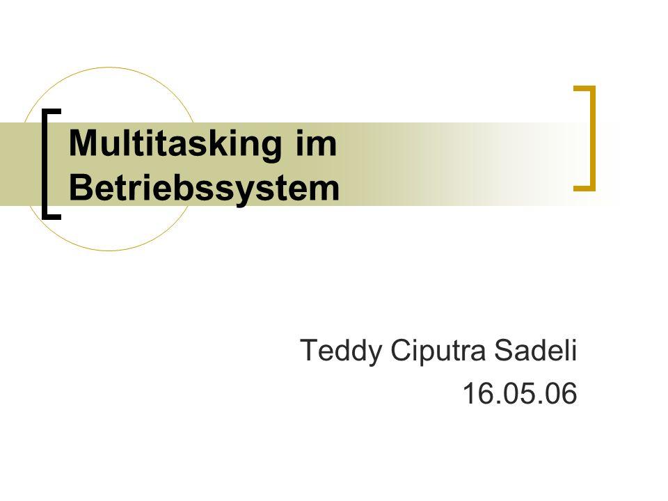 Multitasking im Betriebssystem