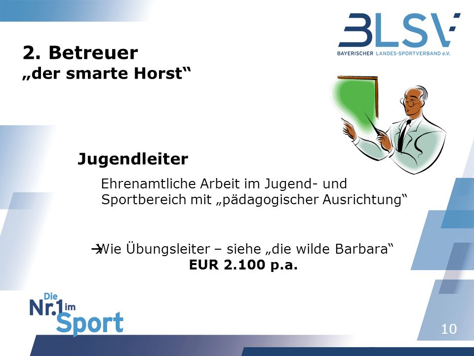 "2. Betreuer ""der smarte Horst"