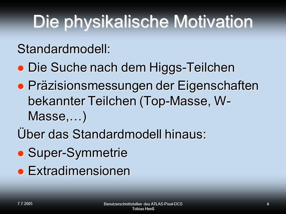 Die physikalische Motivation