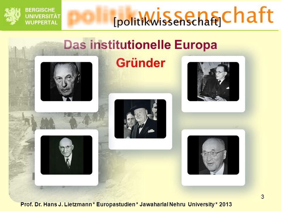 Das institutionelle Europa Gründer