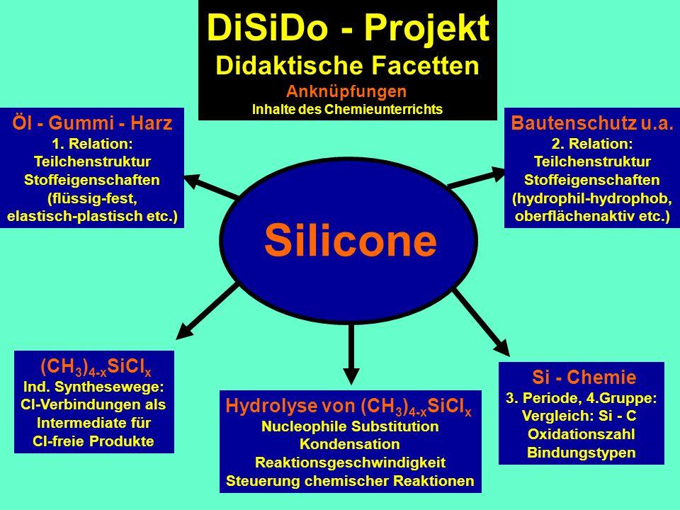 Silicone DiSiDo - Projekt Didaktische Facetten Öl - Gummi - Harz