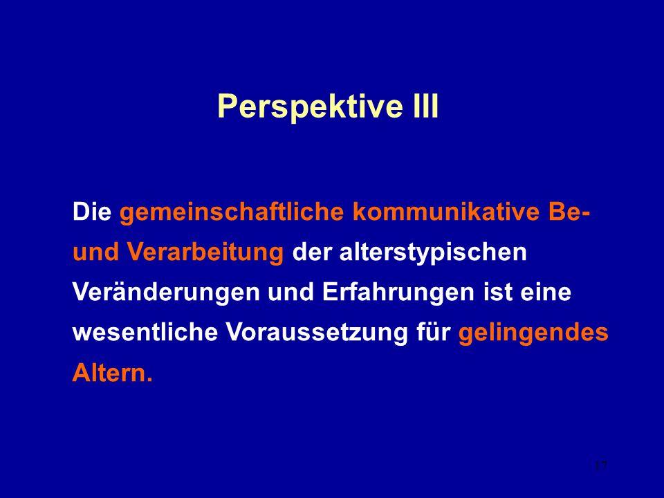 Perspektive III