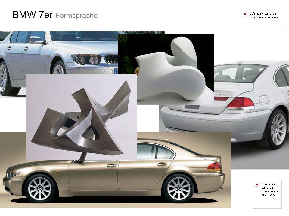BMW 7er Formsprache