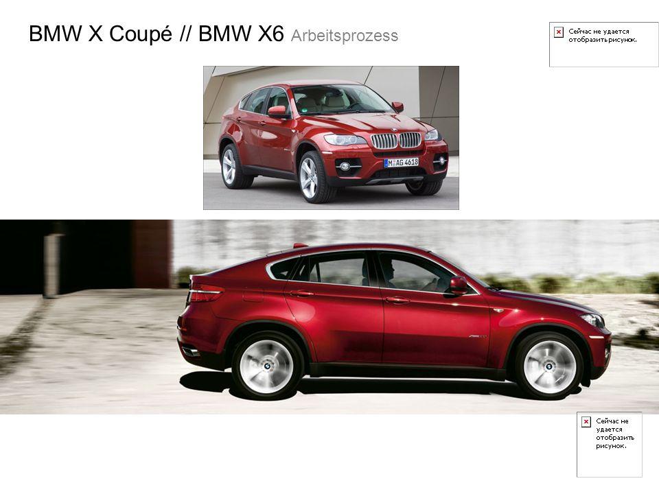 BMW X Coupé // BMW X6 Arbeitsprozess