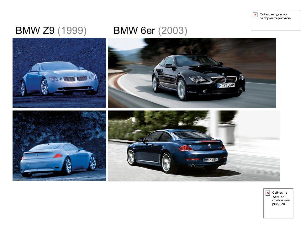 BMW Z9 (1999) BMW 6er (2003)