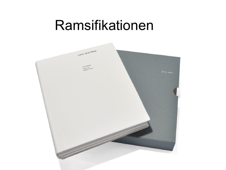 Ramsifikationen Ramsifikationen