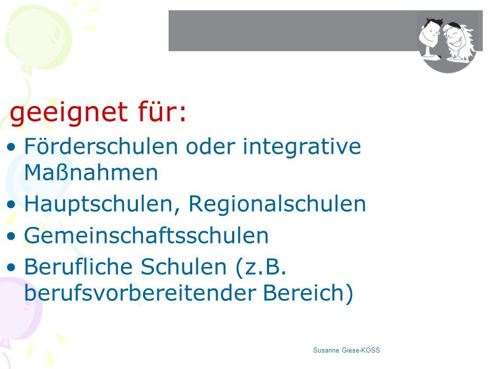 Förderschulen oder integrative Maßnahmen Hauptschulen, Regionalschulen