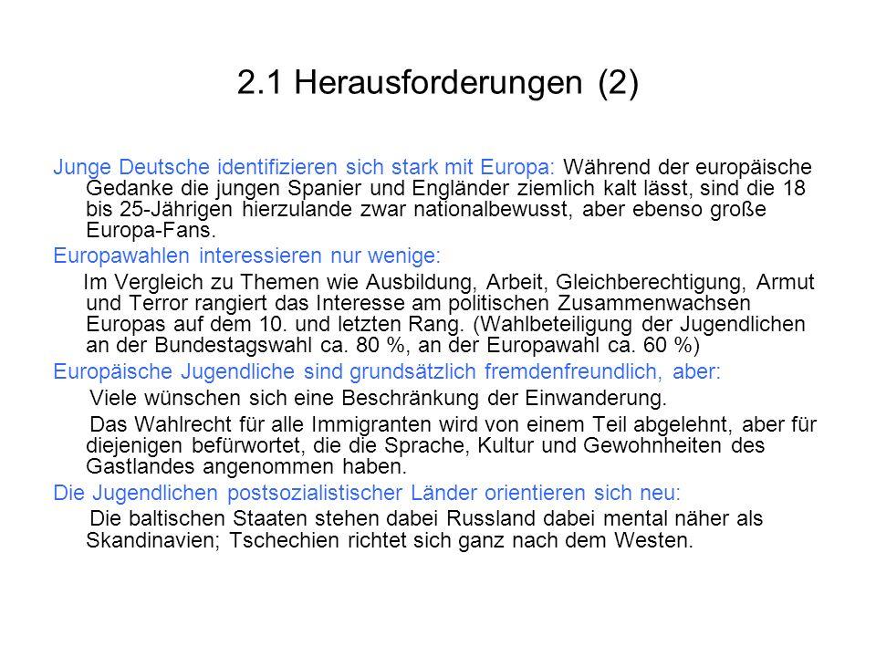 2.1 Herausforderungen (2)